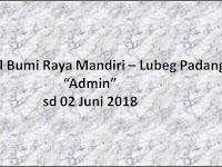 Lowongan Admin - Lubeg Padang (PT Hasil Bumi Raya Mandiri) Asli No Hoax