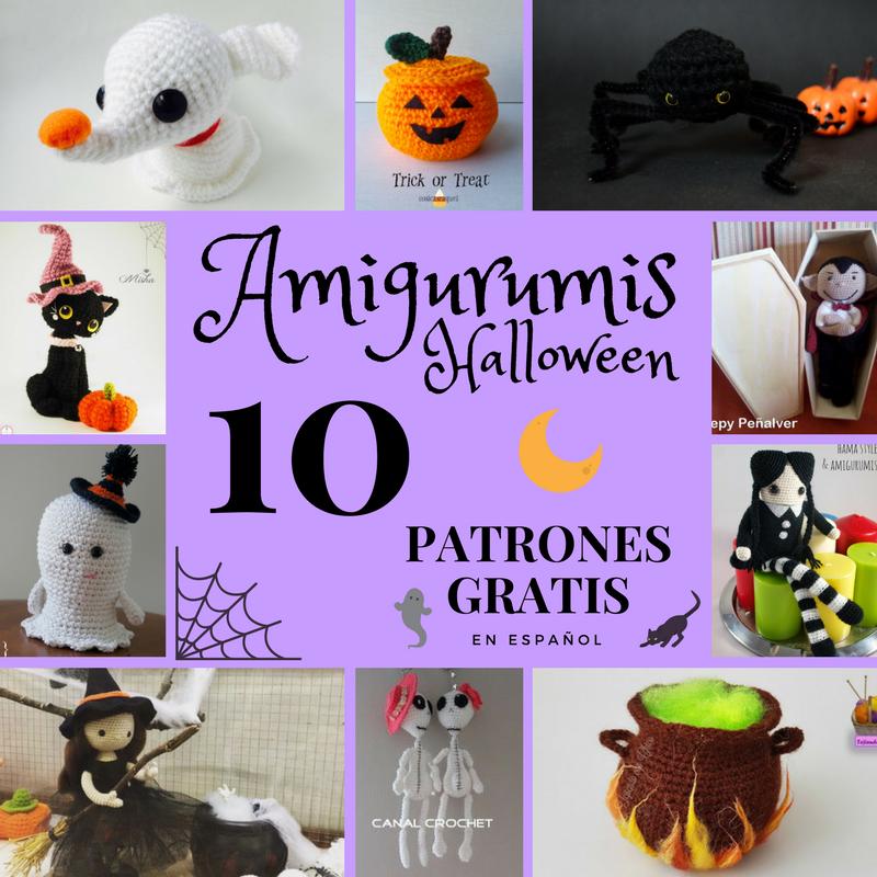 Arte Friki: Amigurumis Halloween: 10 Patrones Gratis en Español