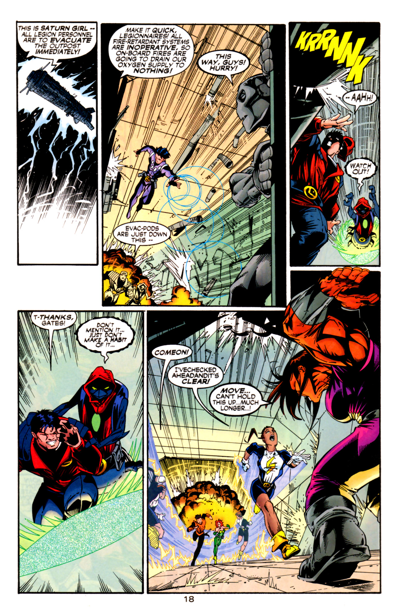 Legion of Super-Heroes (1989) 125 Page 18