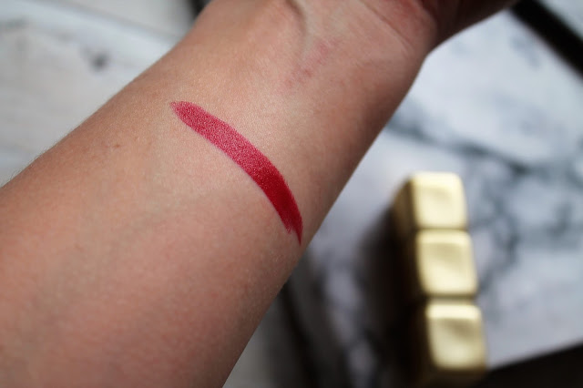 Guerlain KissKiss Matte Lipstick in Spicy Burgundy