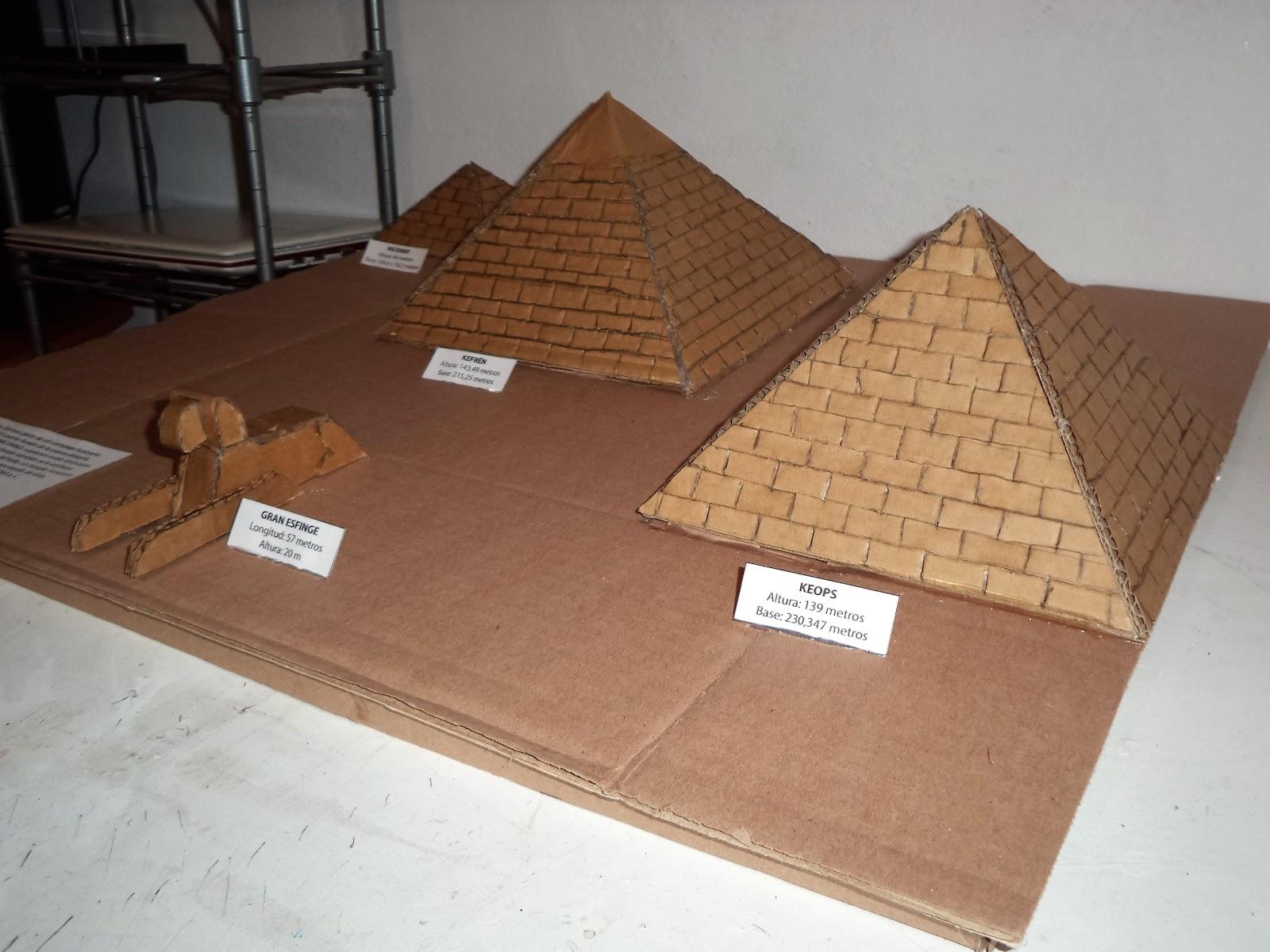 MAQUETAS, DIBUJOS Y DISEÑOS: PIRAMIDES De EGIPTO (maqueta