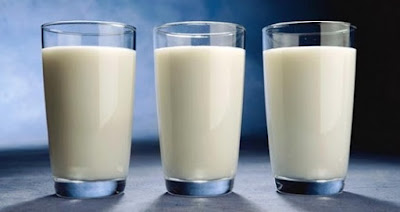 Memutihkan kulit muka dengan susu
