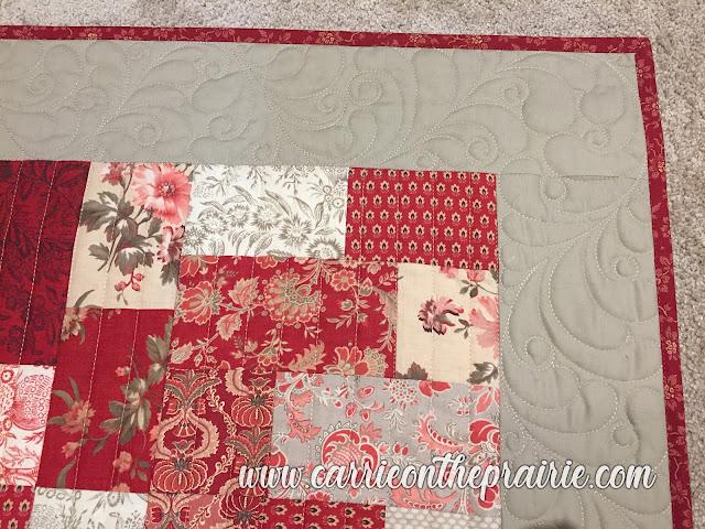 http://carrieontheprairie.blogspot.com/2019/03/karens-scarlet-tan-quilt.html