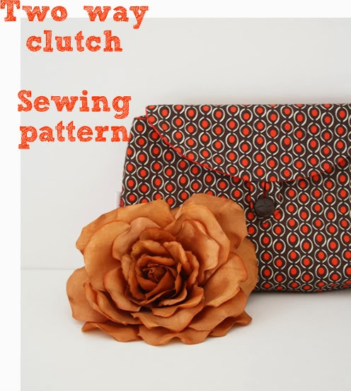 Two Way Clutch Sewing Pattern