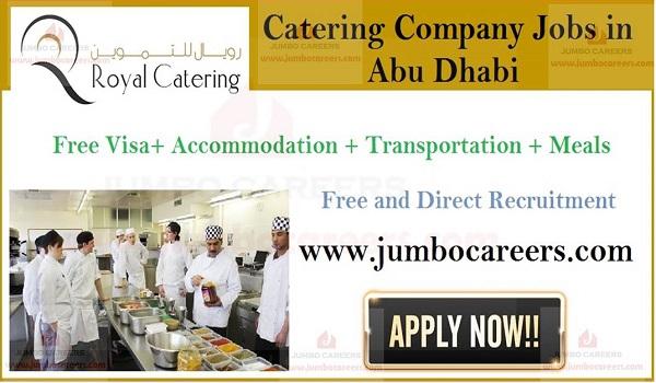 Free visa and air ticket job sin Abu Dhabi, Available jobs in UAE,