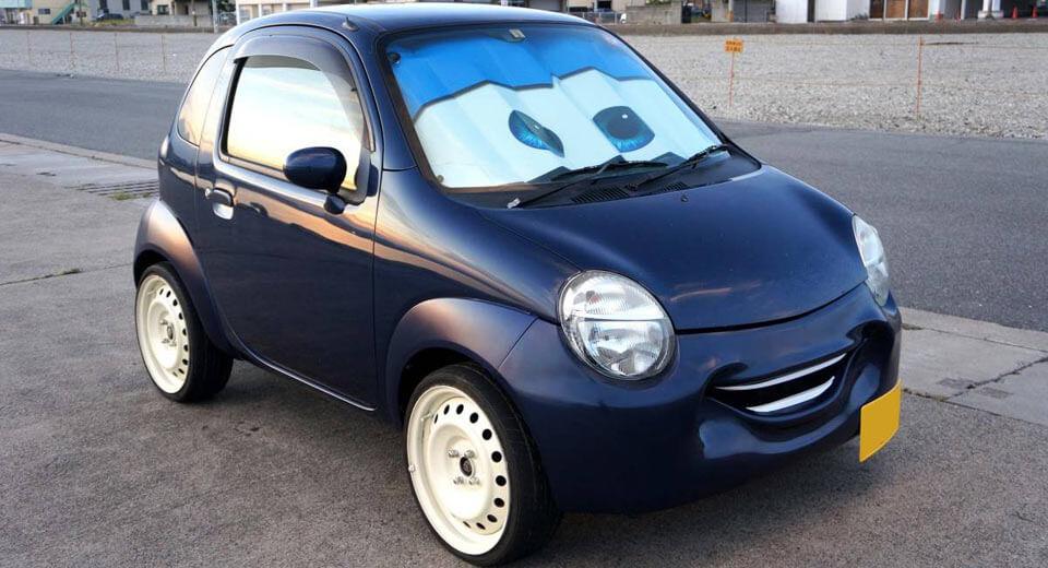 Is It Halloween Already? Pixar's Cars Inspire Smiley-Faced Suzuki Mods