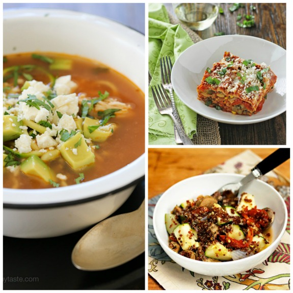 The BEST Slow Cooker Zucchini Recipes featured on SlowCookerFromScratch.com
