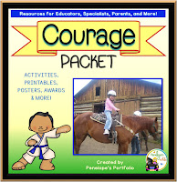 Courage Character Education - Social Skills Teaching Packet