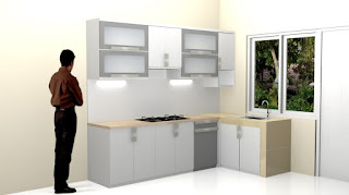 Furniture Interior Kithen Set Plus Anti Rayap - Pabrik Kitchen Set di Semarang