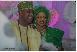 New Couple, Actor Femi Adebayo And His Beautiful Wife Step Out For Jumah