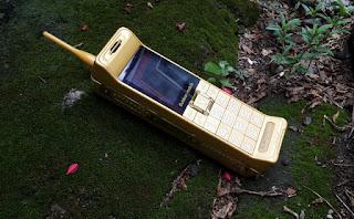 Hape Unik Jumbo Brick Phone C3 New Vintage Classic Phone
