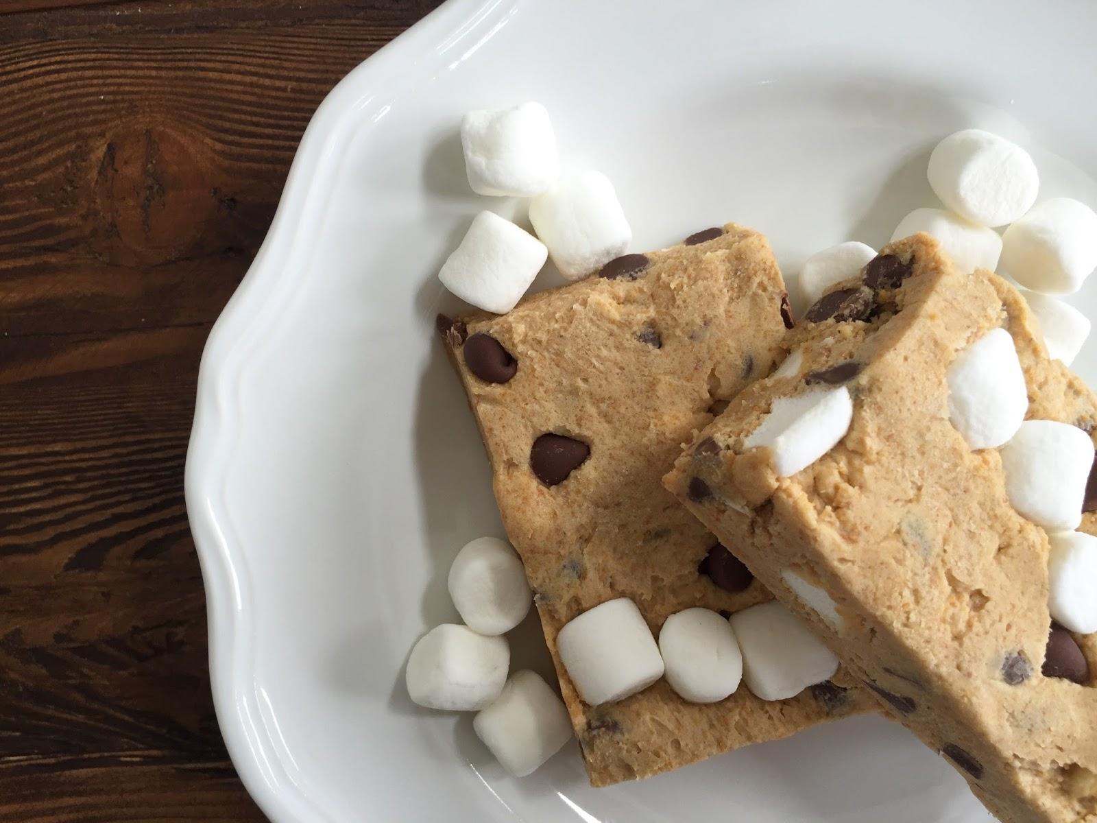 no-bake s'mores cookie dough bars