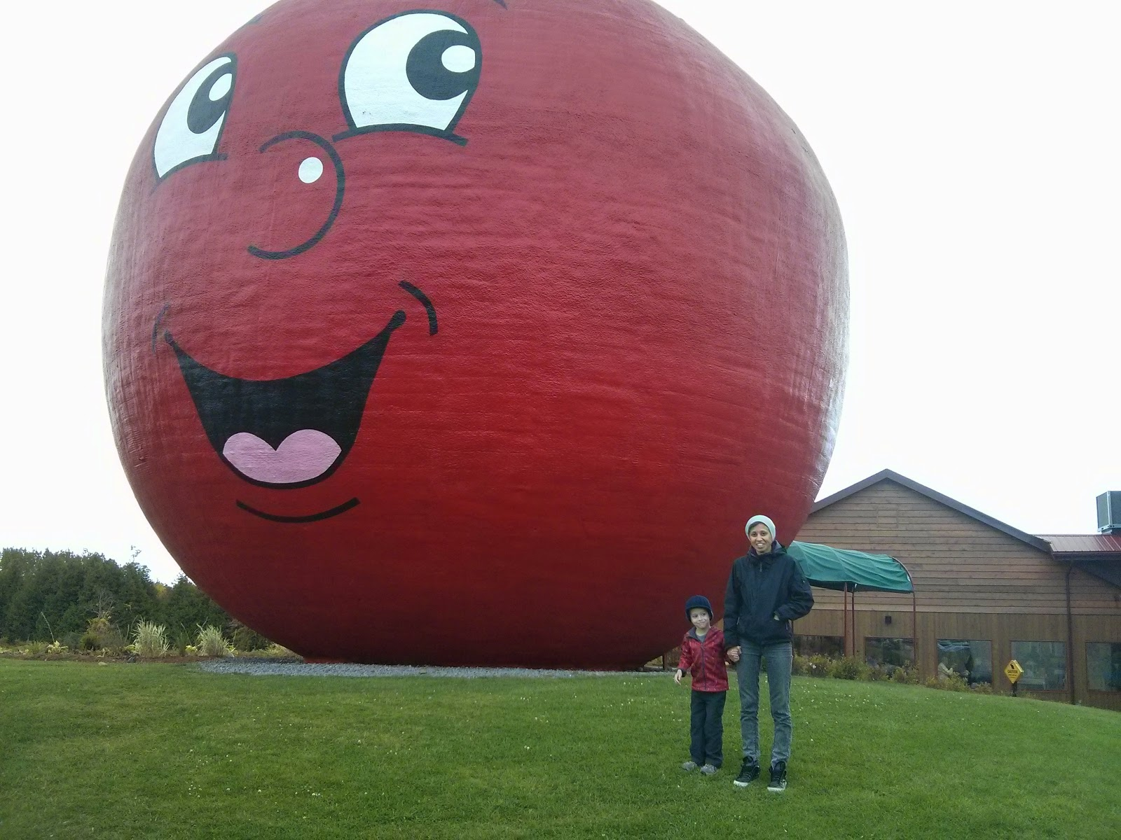 Big Apple Colborne Ontario copyright 2014 OneQuarterMama.ca