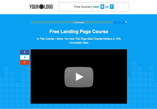 video hosting on leadpage