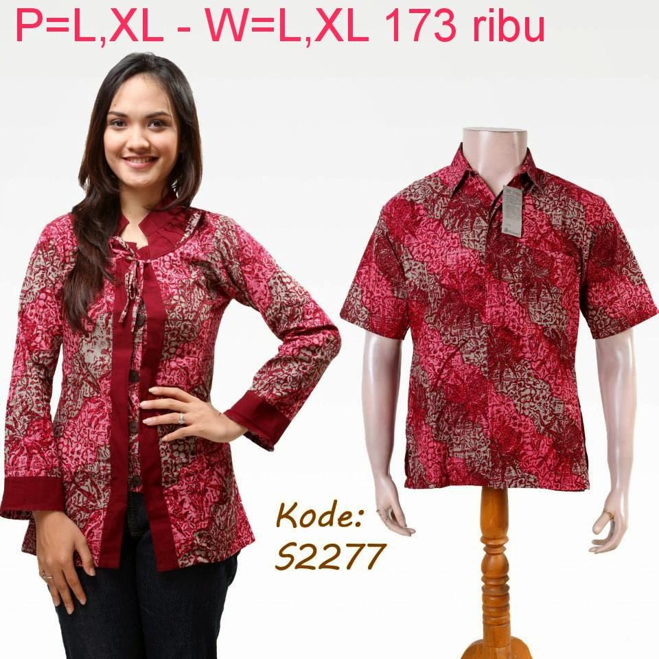 Baju Couple Batik Pesta: Baju Batik Pasangan Untuk Pesta