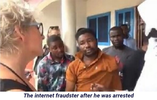 White Woman Left Her Country To Arrest Yahoo Boy Who Scammed Her N8m.