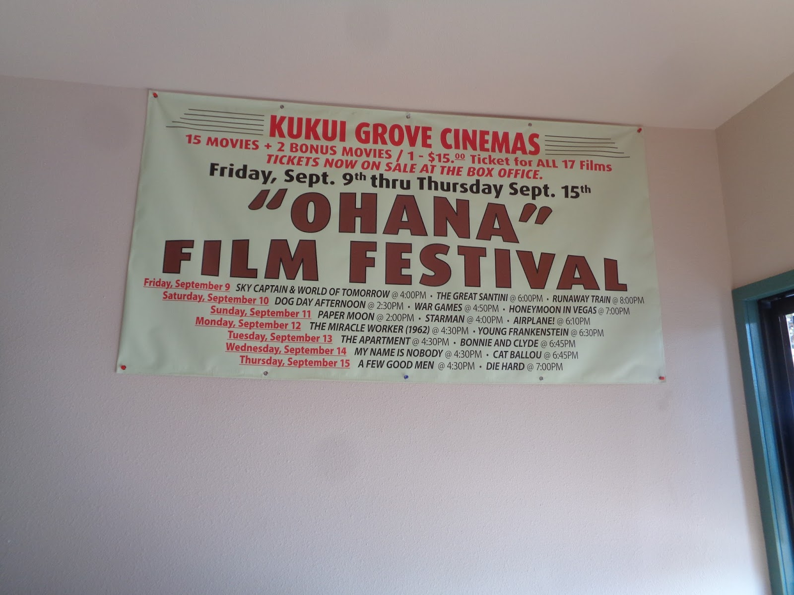 Movie Churches Hawaii Movies On The Big Screen