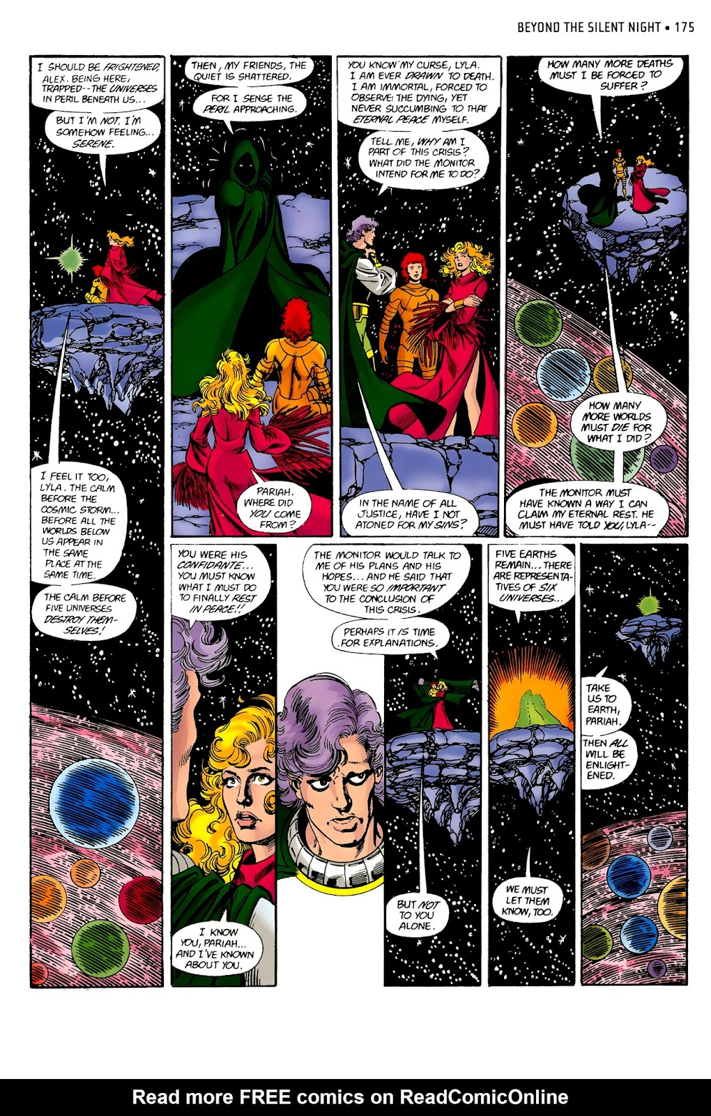 Read online Crisis on Infinite Earths (1985) comic -  Issue # _Absolute Edition 2 - 3