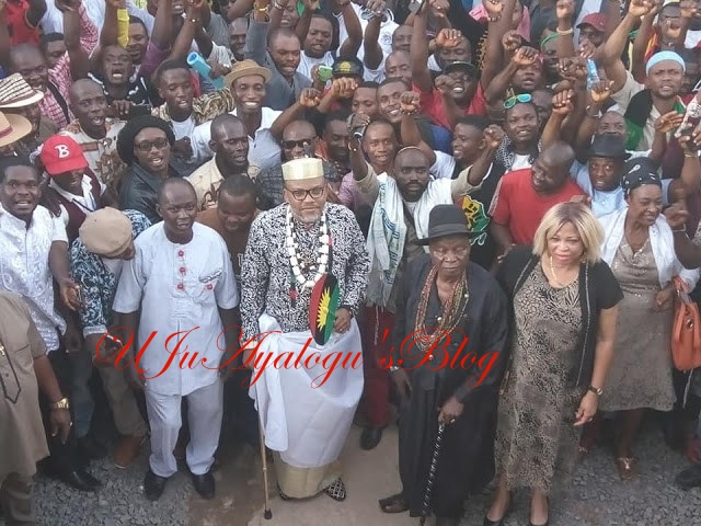 Those Delaying Actualization Of Igbo Nation – Nnamdi Kanu Reveals