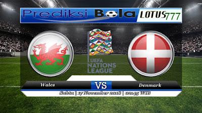 Prediksi pertandingan Wales vs Denmark 17 November 2018
