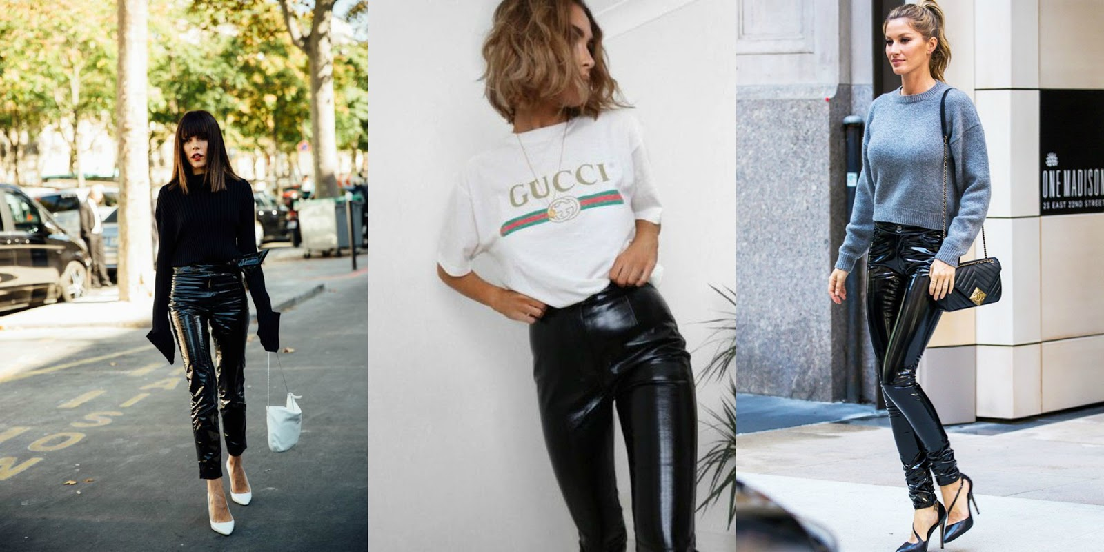 How To Style //  Vinyl Pants