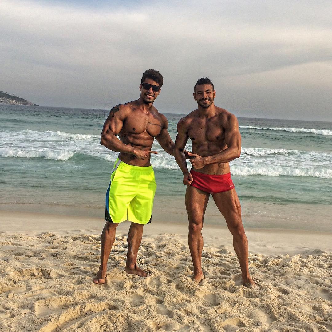 Matheus Nery e Breno Neves. Foto: Arquivo pessoal