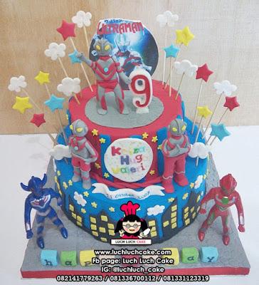 Kue Tingkat Tema Ultraman