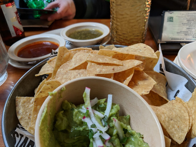 Delicious chips, salsa and guacamole from Big Star Chicago: Musings of a Museum Fanatic