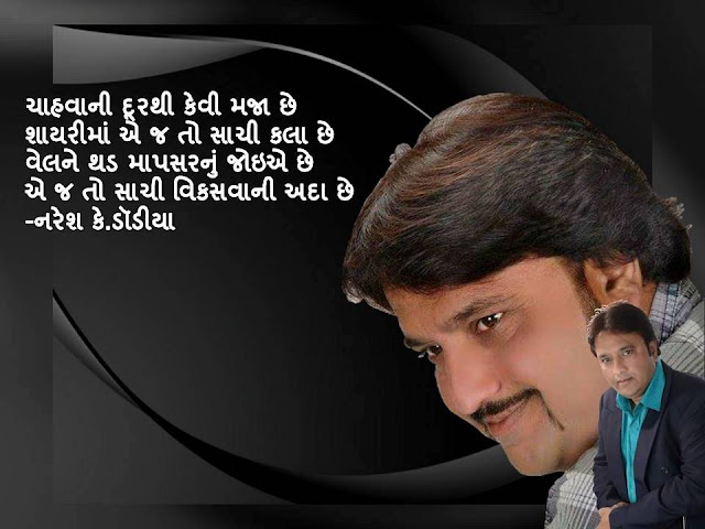 चाहवानी दूरथी केवी मजा छे Gujarati Muktak By Naresh K. Dodia