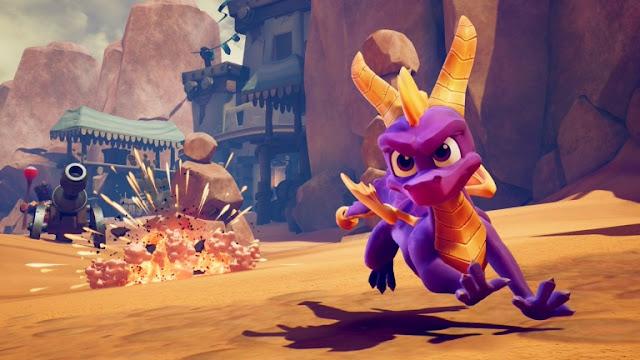 شاهد بالفيديو أول عرض لطريقة اللعب من ريميك جزء Spyro 2: Ripto's Rage ، ما رأيكم في التغييرات ؟