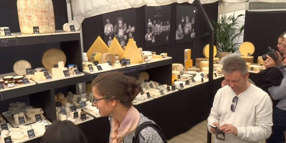 frères Marchand, plateau de fromages