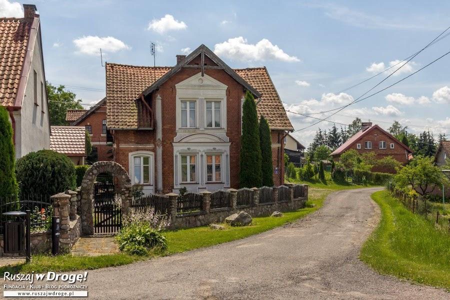 Domy w Gietrzwałdzie