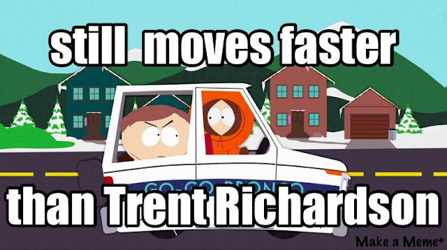 #ravens.-still moves faster than #TrentRichardson