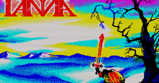 The Sword of Ianna - A new game launches on MSX2 and ZX Spectrum that will blow you away!