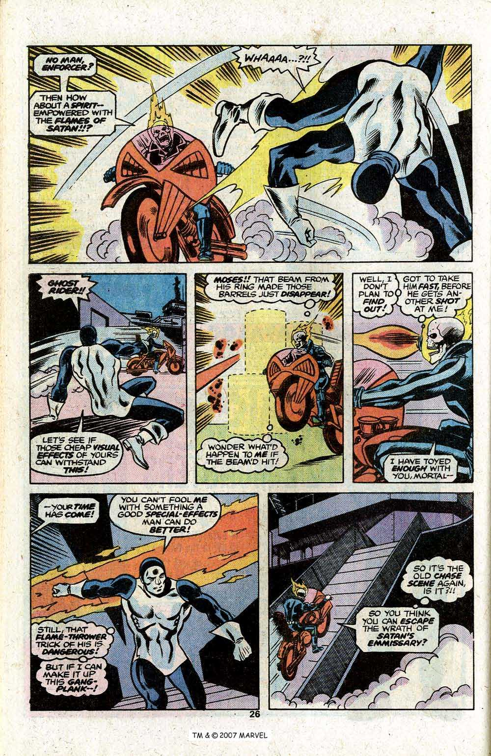 Ghost Rider (1973) Issue #22 #22 - English 28