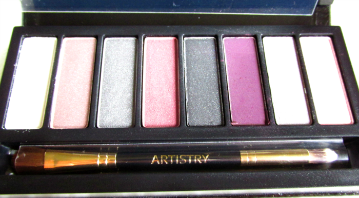 ARTISTRY Little Black Dress Eyeshadow Palette - Pearl, Candlelight, Evening Out, Midnight, Little Black Dress, Glamour, Stiletto, Sequin