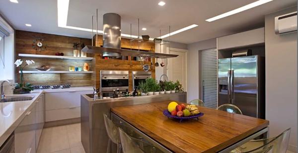 decoração cozinhas integradas