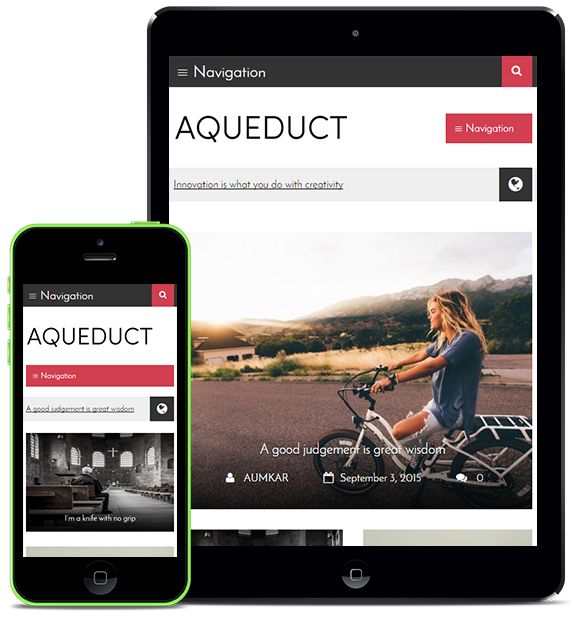 Magazine Responsive WordPress Theme
