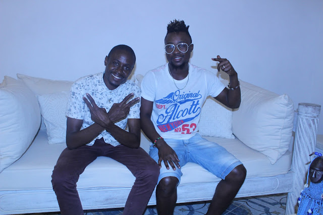Beka the Boy with Changez Ndzai| Photo| Courtesy Changez Ndzai