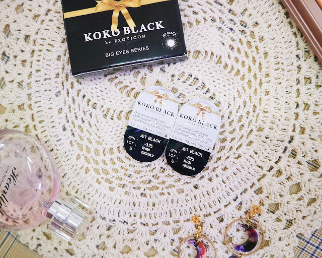 koko black by exoticon jet black review
