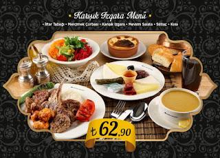 özdilek safahat lokantası inciraltı izmir iftar menü izmir iftar mekanları inciraltı iftar mekanları