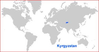 image: Kyrgyzstan Map Location