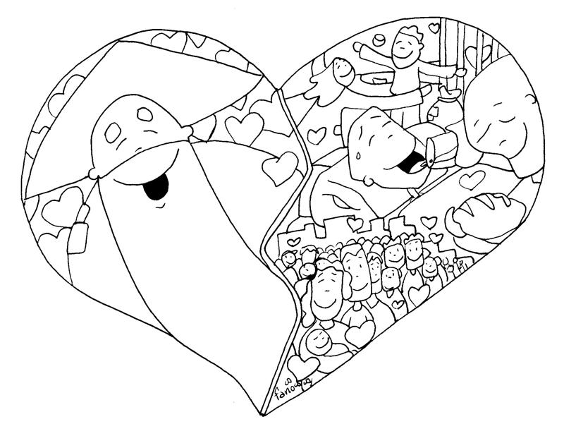 Dibujo De Amor A Dios Imagui