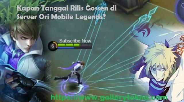 Tanggal Rilis Hero Gossen di Server Ori Mobile Legends