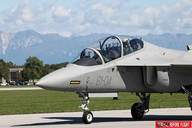 ITALY SIGNS A DEAL FOR NINE M-346