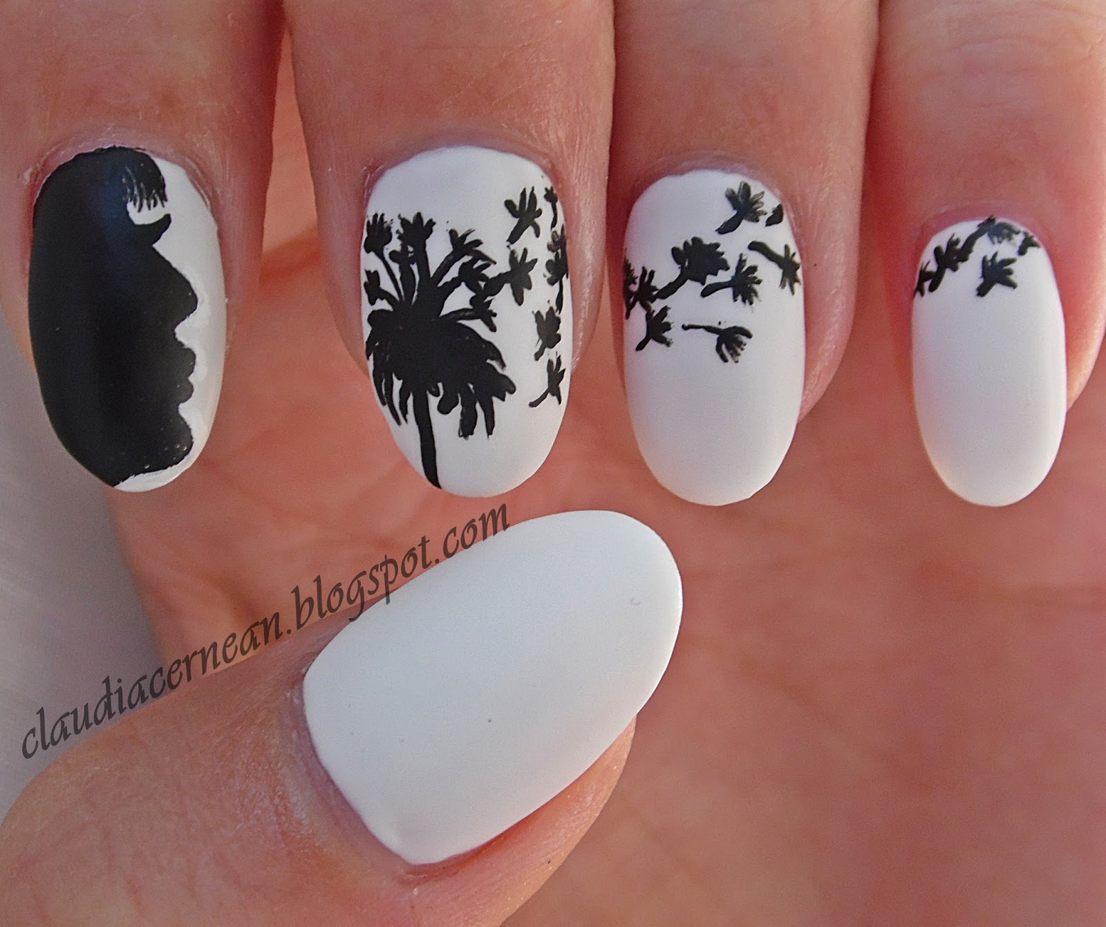 http://claudiacernean.blogspot.co.uk/2013/08/unghii-cu-papadie-dandelion-nails.html