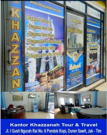Kantor Pusat Travel Khazzanah