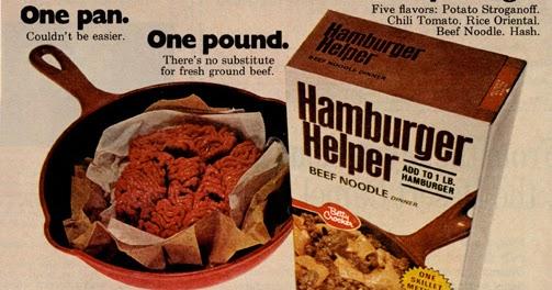 Historys Dumpster Hamburger Helper