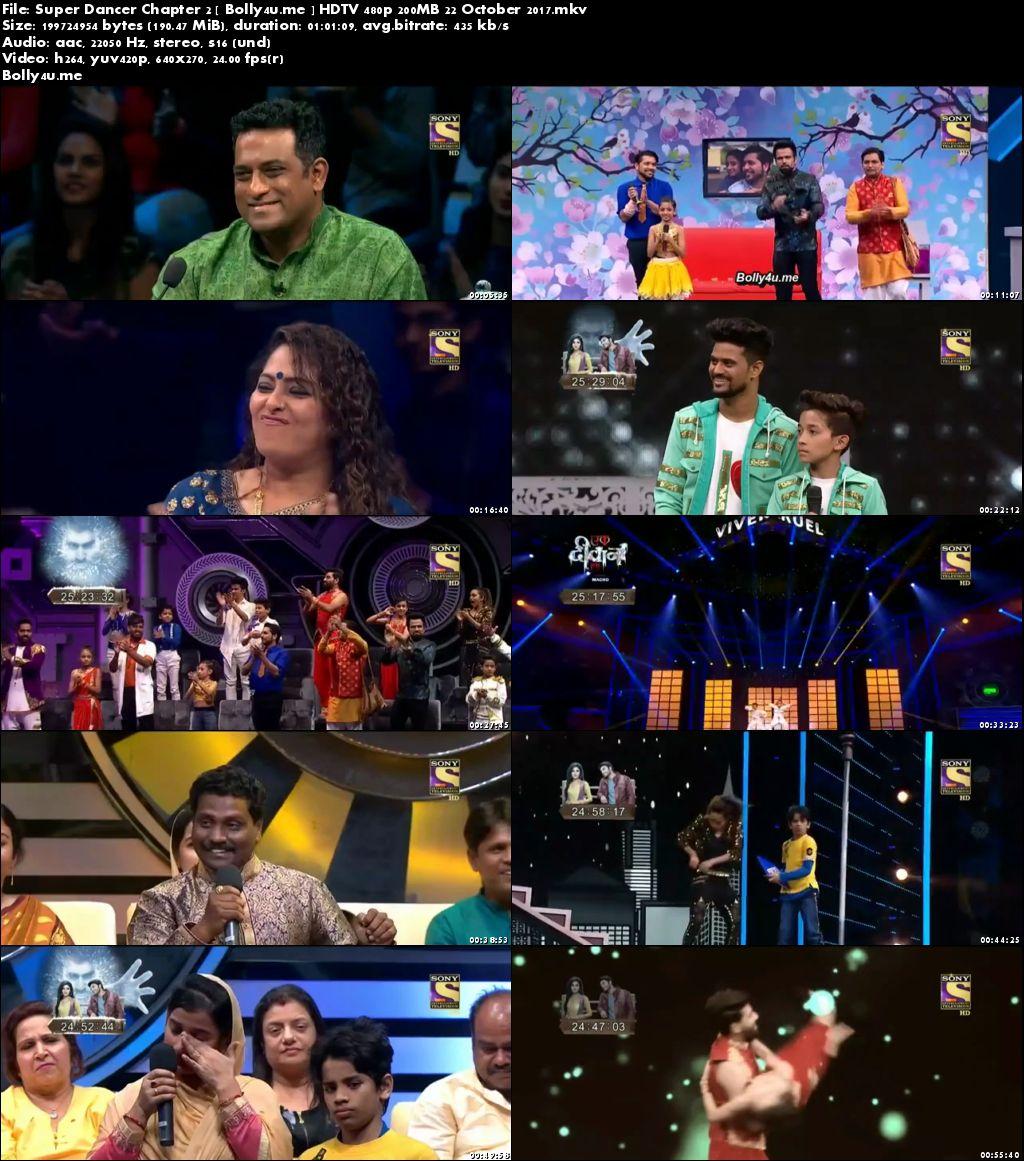 Super Dancer Chapter 2 HDTV 480p 200MB 22 October 2017 Download