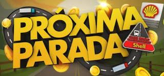 Cadastrar Promoção Próxima Parada App clube Irmão Shell